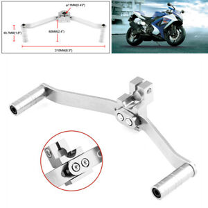C motorcycle gear shift lever universal motorcycle modified parts aluminum alloy double head shift lever Gear Shifter Shift Lever