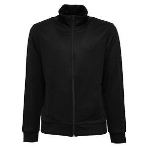 nuovo di zecca fc8cb 9a194 Details about 9008Z felpa uomo FRED PERRY SPORTWEAR micro piquet black full  zip sweatshirt man