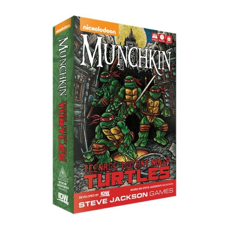 Teenage Mutant Mutant Mutant Ninja Turtles  Munchkin-nuevo 2fc5bf