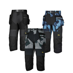Work Pirate Shorts With Holster & Kneepad Pockets 6905 Trustful Snickers Flexiwork