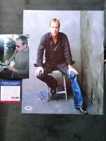 Kiefer Sutherland Hot! signed 11x14 photo PSA/DNA cert PROOF!!