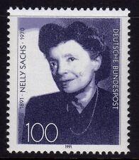 Germania 1991 nascita di Nelly Sachs, scrittore SG 2432 MNH