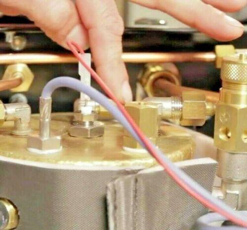 """Relief  Valve ø 1//4/""""M Siphon Espresso machine boiler pressure anti vacuum"""