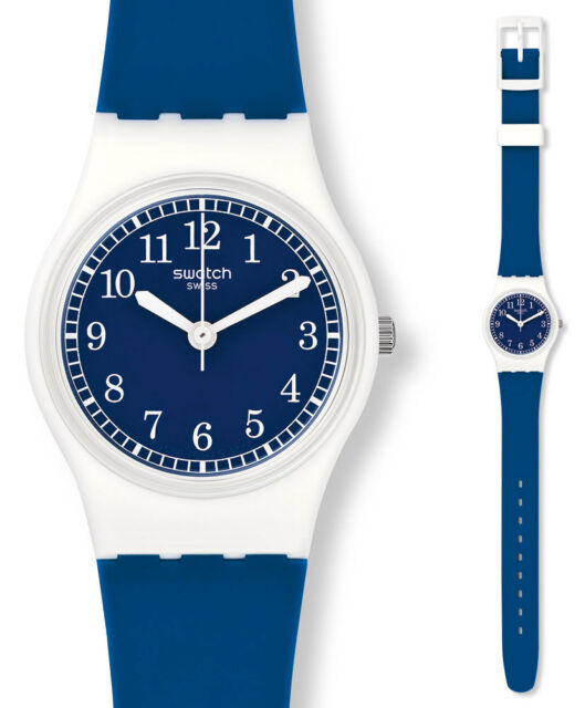 Swatch squirolino Watch LW152 Analogue Silicone Blue