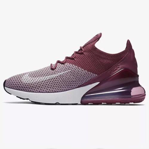 finest selection e70fb 5e98e Nike air max 270 flyknit scarpe da da da uomo di nebbia vino d annata