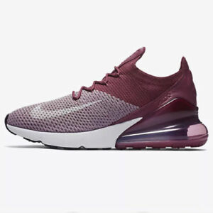 a1da7fb2d1f0d NIKE AIR MAX 270 FLYKNIT MEN S SHOES PLUM FOG VINTAGE WINE AO1023 ...
