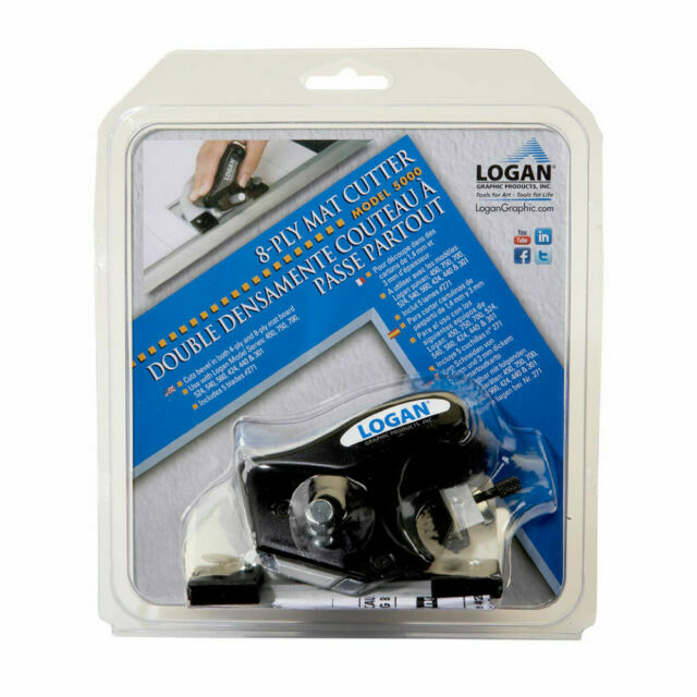 Logan Graphic Products 5000 8ply Bevel Mat Cutter For Sale Online Ebay