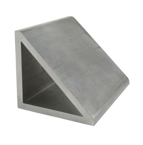 80//20 Inc  80mm x 80mm x 6mm Aluminum Gusset Profile 40-8636 x 305mm Long N