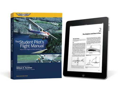 FREE SHIPPING ASA The Student Pilot/'s Flight Manual FM-STU-11-2D eBundle