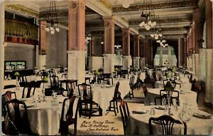 San-Antonio-Texas-St-Anthony-Hotel-Interior-Main-Dining-Room-1910-Postcard