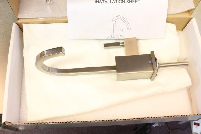 Whitehaus Q-Haus Drinking Water Filtration Faucet Tap Dispenser Brushed Nickel