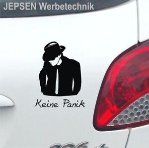 Auto-Aufkleber-Udo-Keine-Panik-S040-in-12cm-JDM-OEM-Sticker-Wunschfarbe