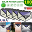 100-LED-Solar-Power-PIR-Motion-Sensor-Wall-Light-Outdoor-Garden-Lamp-Waterproof thumbnail 1