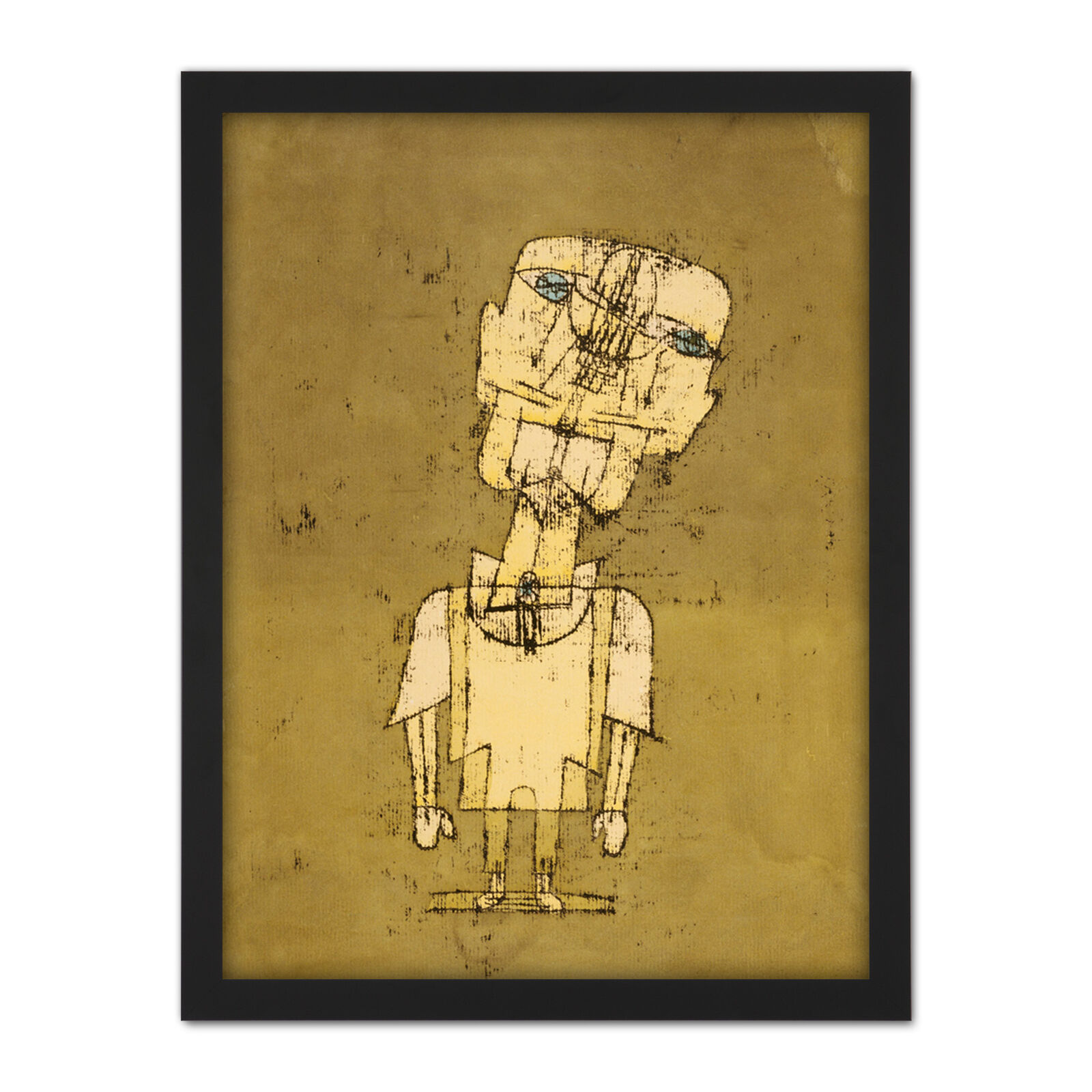 Paul Klee Gespenst Eines Genies Ghost Of A Genius Large Framed Art Print