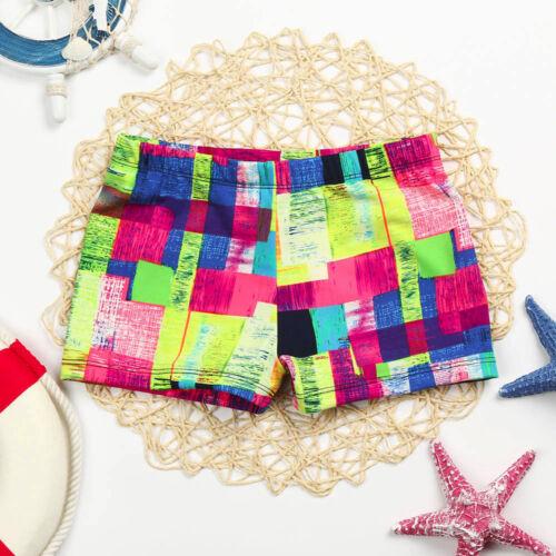 Summer Kids Baby Boys Stretch Beach Swimsuit Swimwear Trunks Shorts Camouflage