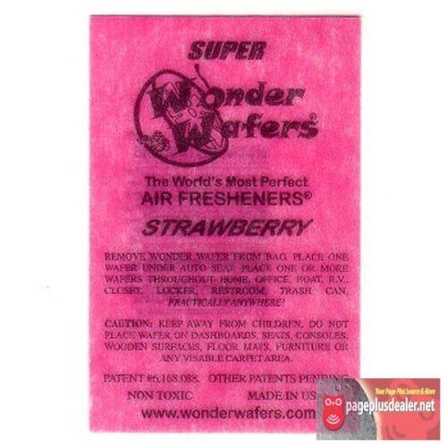 15-Wonder-Wafers-Strawberry-Scent-Amazingly-Fresh