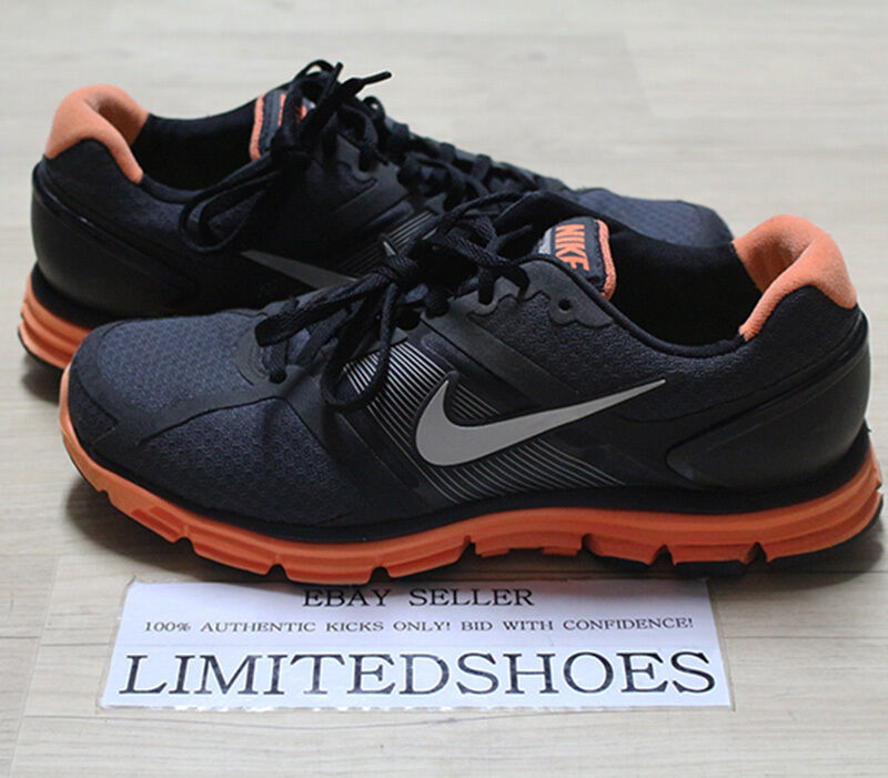 NIKE LUNARGLIDE + BLACK TOTAL ORANGE 366644-001 US 10 volt grey red blue 6 7 8 Special limited time