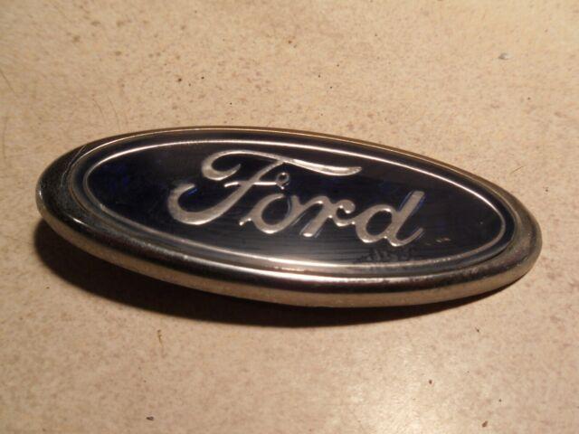 OEM 2003-2004 Ford Mustang COBRA SVT Trunklid FORD Oval Emblem Blue