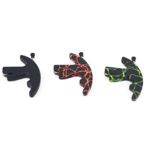 Outdoor Finger Thumb Archery Release Aid For Compound Recurve Bow Trigger Sports