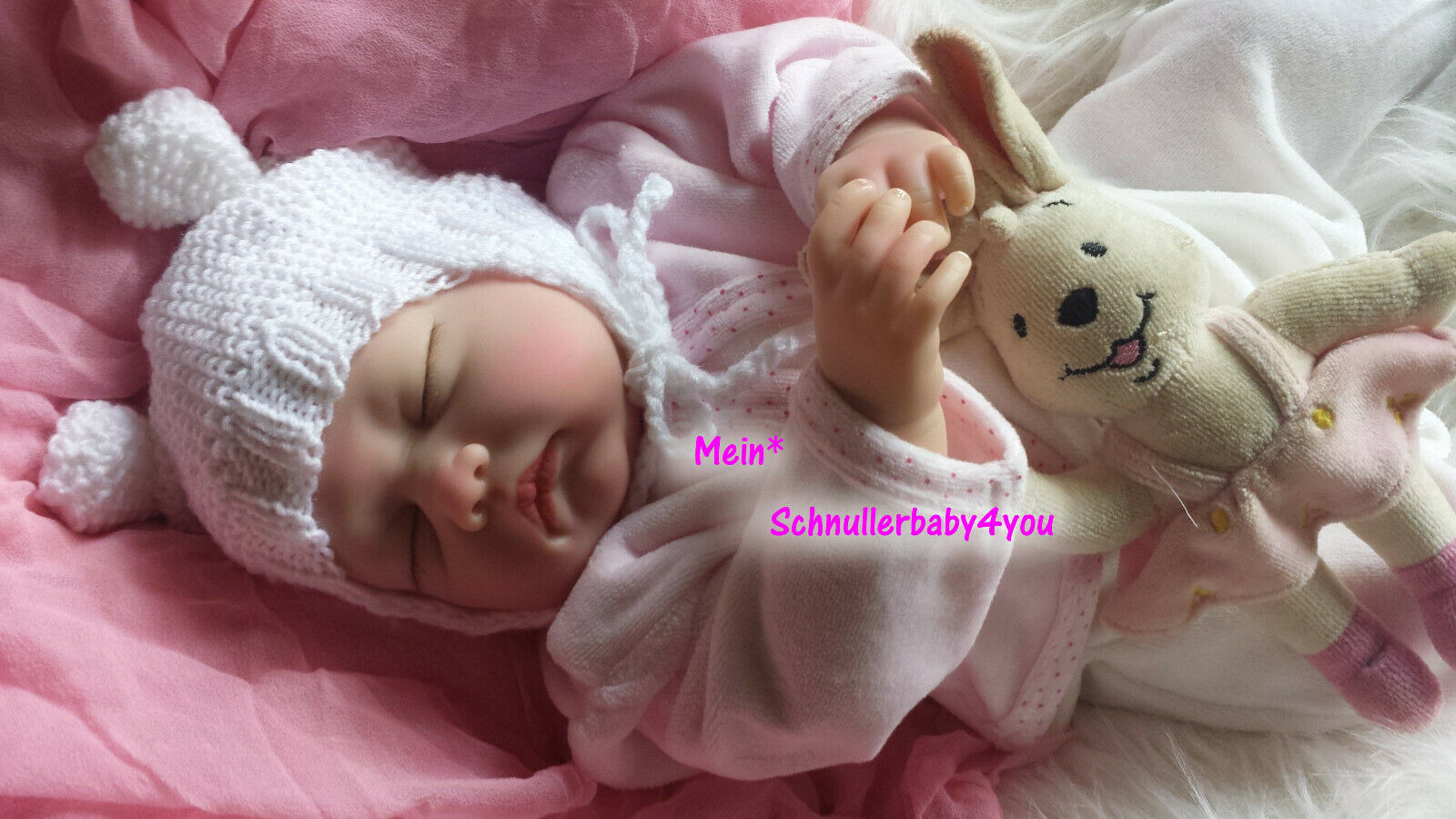 ✨Reborn Reallife Oster Baby Girl BS v. U.L Krautter Babypuppe Künstlerpuppe✨