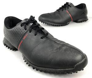 Details about Adidas Adizero 675690 ThinTech Soft Spiked Men's 11.5 Black Golf Shoes