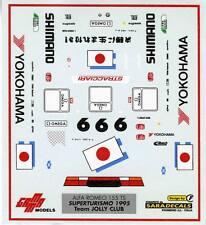 ALFA ROMEO 155 TS SUPERTURISMO 1995 JOLLY CLUB DECALS OSCAR LARRAURI 1/43