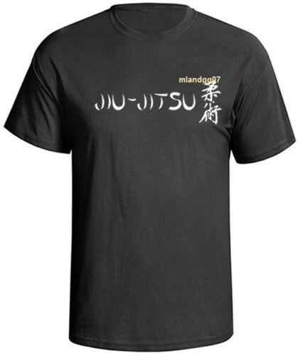 Brazilian Jiu Jitsu Fighting T-shirt a Martial Art Combat Sport Shirt  SZ S-5XL