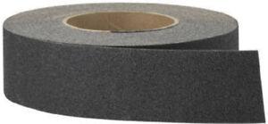 "3M 7732 2"" X 60' Foot Roll Black Anti Slip Adhesive Stair Tread Tape"