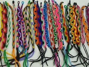 Wholesale-Lot-New-Hand-Woven-Cotton-Colorful-String-Bracelet-Rope-Anklace-100pcs