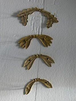 Emblemer, DSB Laurblade + Egeblade fra før 1973 til kasket