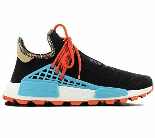 adidas pharrell williams black and orange