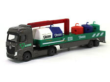 Mercedes-Benz Actros garbage carrier truck trailer Majorette Toys Diecast scale