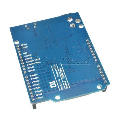CH340  ESP8266 ESP-12E CP2102 WiFi Development Board Shield Adapter for WeMos D1