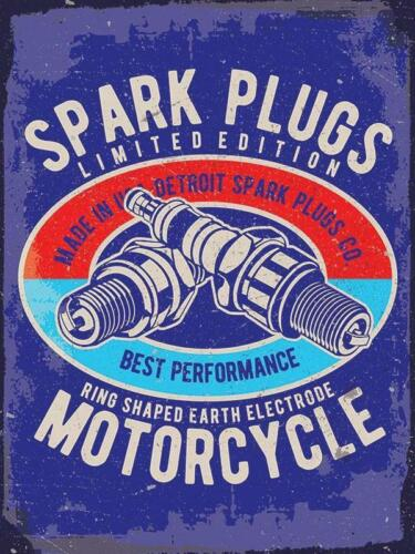 Best Performance Motorcycle Spark Plugs Old Garage Fridge Magnet
