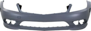Primed-Front-Bumper-Cover-Replacement-for-2008-2011-Mercedes-Benz-C-Class