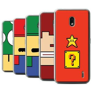 Gel-TPU-Case-for-Nokia-2-2-2019-Retro-Gaming-Characters