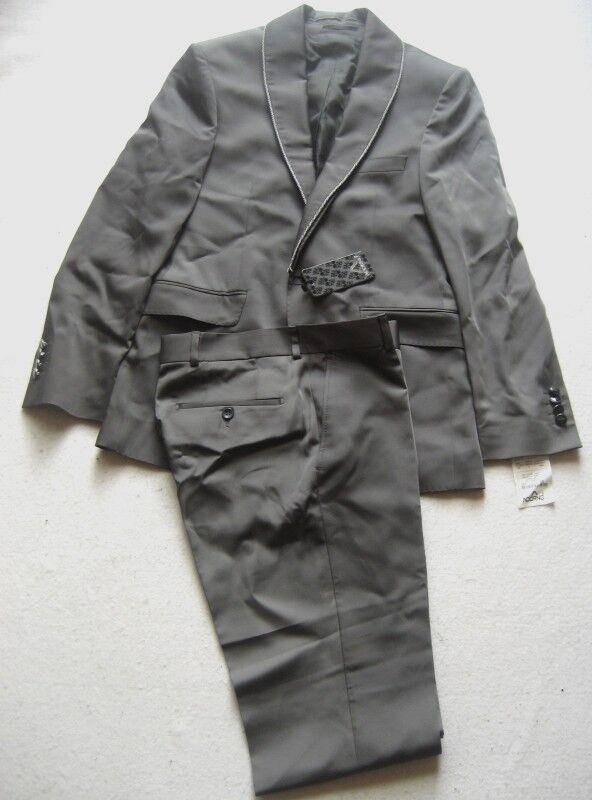 ADORNO Hochzeitsanzug EVEREST Mit Doppelkragen Gr. 46 Grau