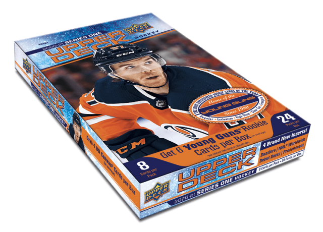 2020-21 Upper Deck Series 1 Hobby Box SEALED IN HAND