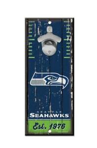 Seattle-Seahawks-Wand-Flaschenoeffner-Holz-Opener-NFL-Football