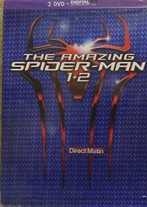 DVD-the-amazing-spider-man-1-2-neuf-sous-blister-2dvd