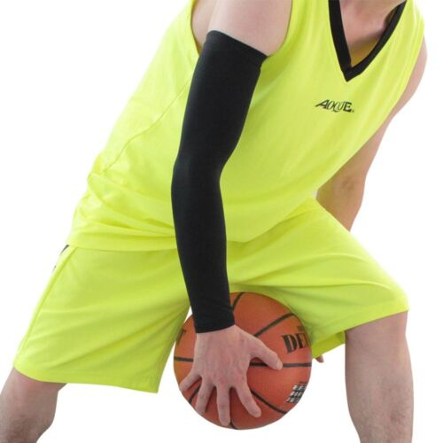 1 Pair Cycling Bike Bicycle Arm Warmers Cuff Sleeve Cover UV Sun Protection New
