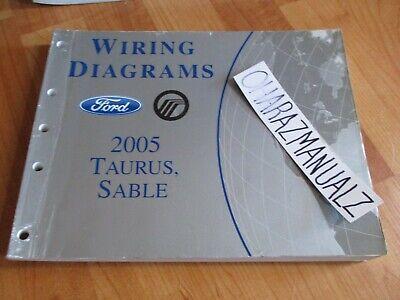 2005 FORD Taurus Mercury Sable Wiring Diagrams Manual OEM ...