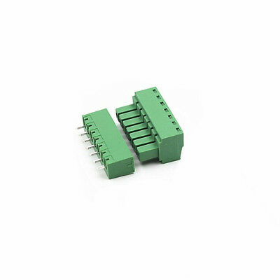1set 7Pin 3.81mm Pitch 15EDG Straight Screw Terminal Block Connector Panel