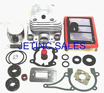 KAM TS700 Cylinder Piston Rebuild New aftermarket TS800 Cylinder and Piston