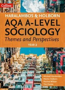 AQA-A-Level-Sociology-Themes-and-Perspectives-Year-2-9780008242787-Brand-New