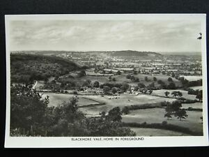 Dorset-BLACKMORE-VALE-Home-of-St-Francis-in-Forground-Old-RP-Postcard