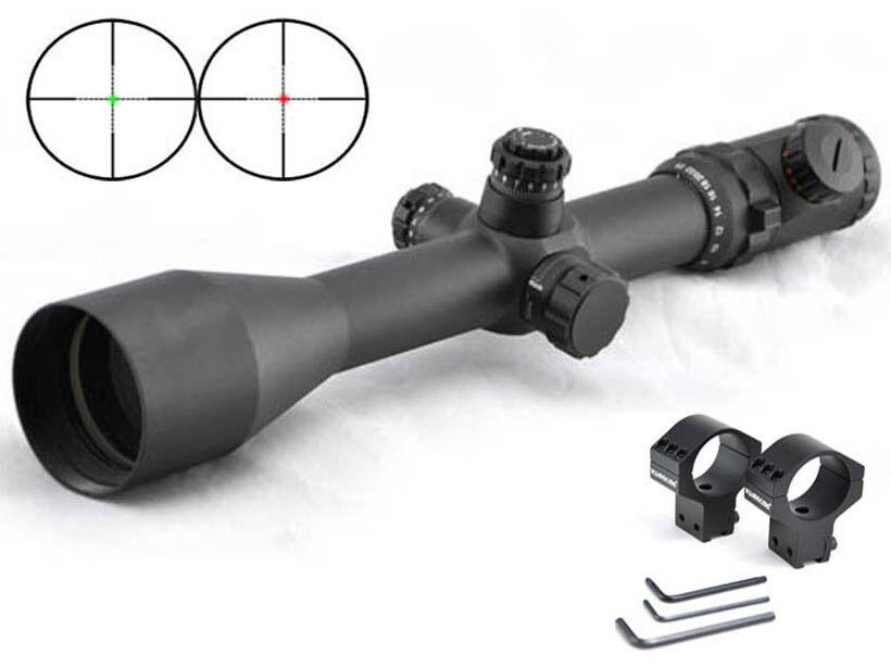 Visionking 6-25X56 Mil Dot Mira para rifle de largo alcance 35mm 50 Cal 11 objetivo de cola de milano