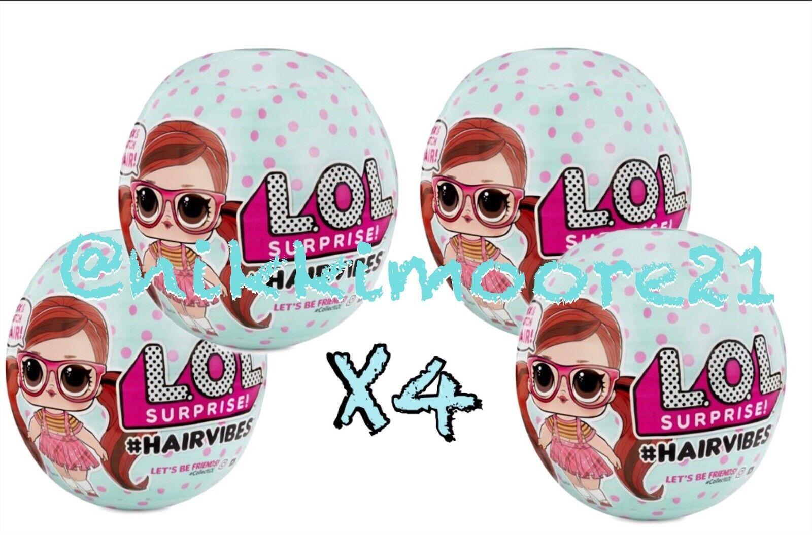 L. O.L.Surprise     Hairvibes Bambole con 15 Surprises & Mix & Match Hairpieces