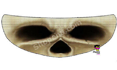Skull Eyes Helmet Visor Sticker Skeliton Motorcycle Shield Decal Tint Eyes Bones