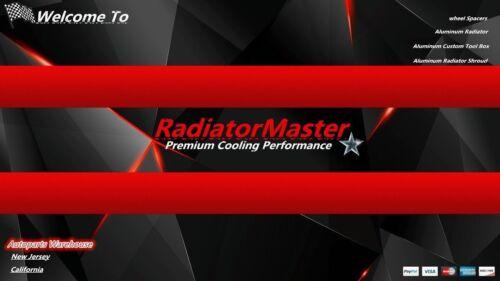 ALUMINUM RADIATOR FOR 1987-2002 JEEP WRANGLER TJ// YJ 3ROW Chevy V8 Conversion